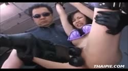 Bound And Dominated Asian Teen
